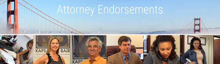 Attorney Endorsements